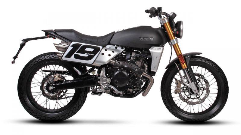 motorcycle fantic caballero flat track 500