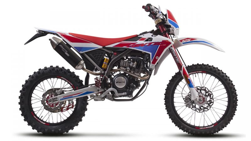 motorcycle fantic enduro 125 e competition