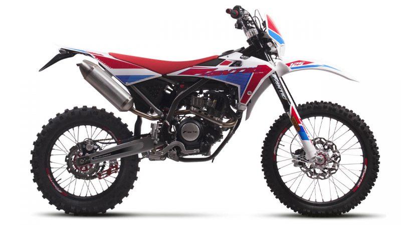 motorcycle fantic enduro 125 e performance
