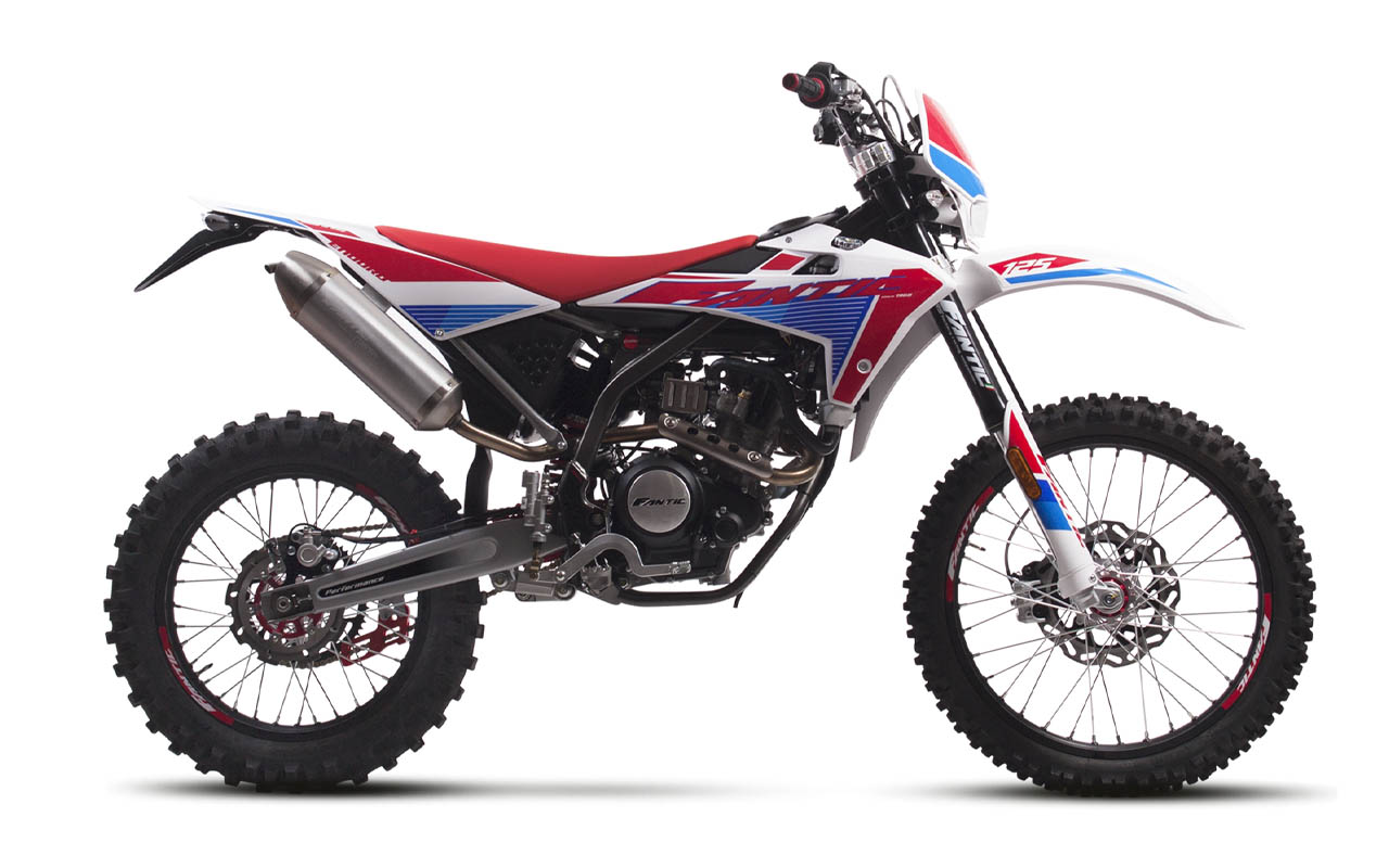 motorcycle fantic enduro 125 e performance