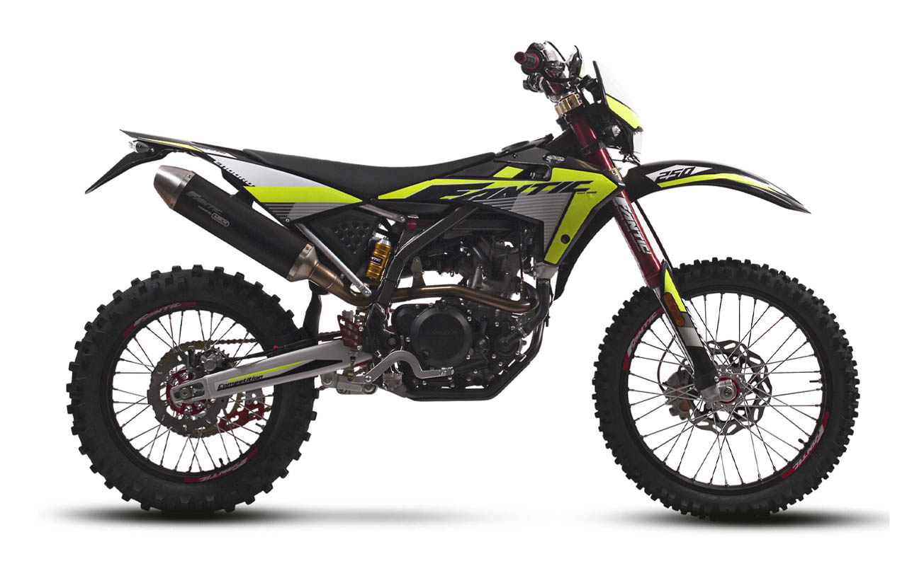 motorcycle fantic enduro 250 e competition
