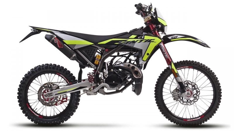 motorcycle fantic enduro 50 e competition