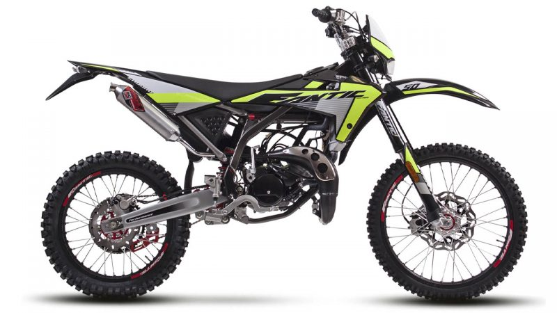 motorcycle fantic enduro 50 e performance