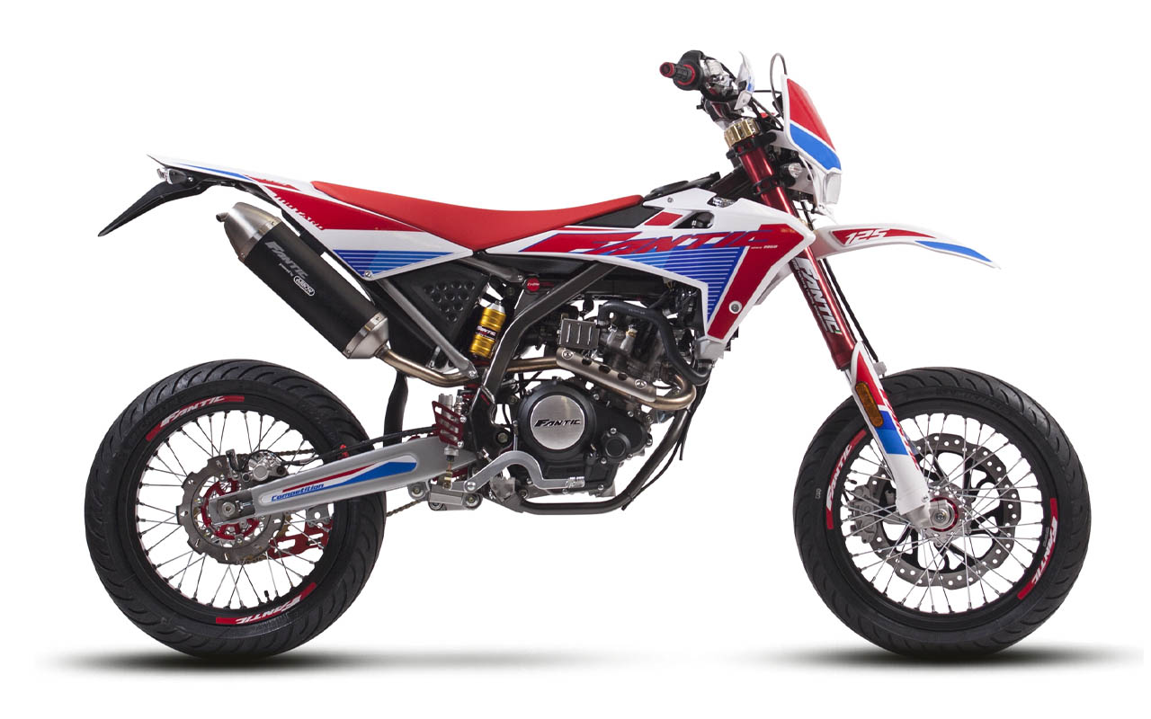 motorcycle fantic motard 125 m competition