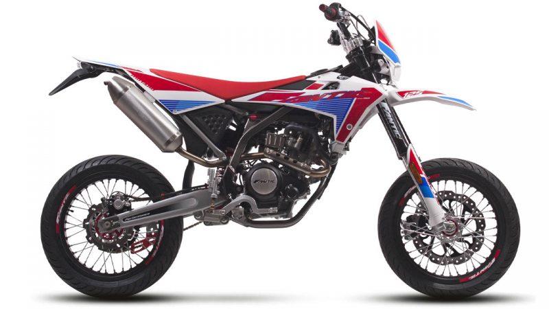 motorcycle fantic motard 125 m performance