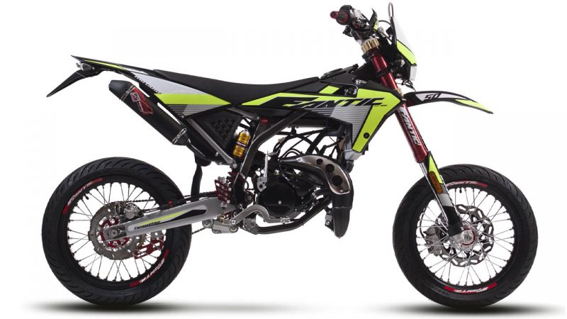 motorcycle fantic motard 50 m competition