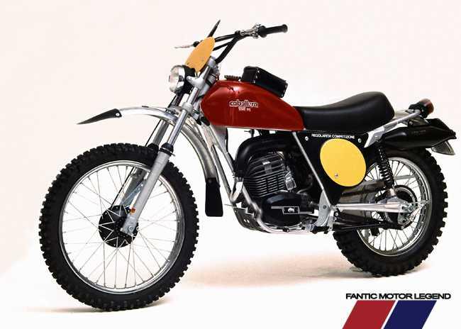 1974. - Caballero 125 kubika s motorom Minarelli