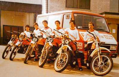 1975. - Fantic Motor Racing Team