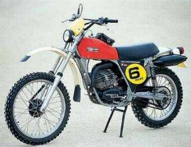 1976. - Caballero Regolarità 125, šest brzina (6M)