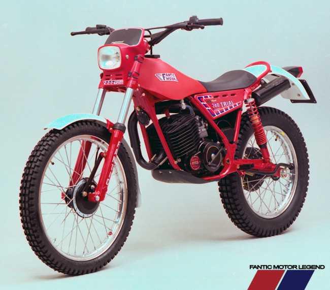 1982. - Fantic Trial 240