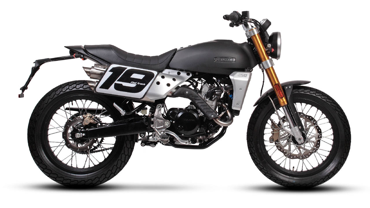 motorcycle fantic caballero flat track 125