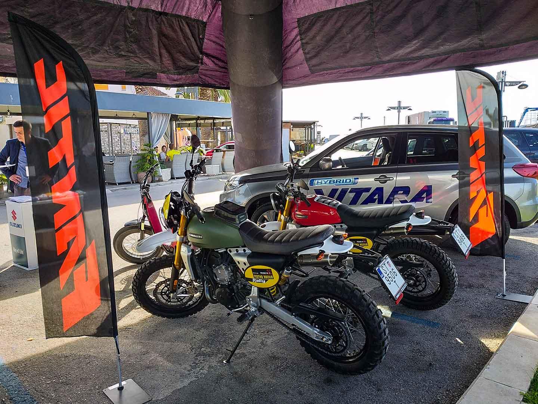 biograd na moru fantic promocija issimo caballero motocikli e-bicikli